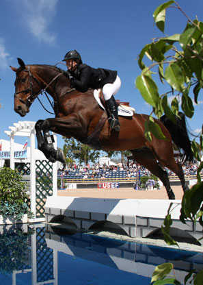 Cara Raether, Olympic Show Jumping Competitor